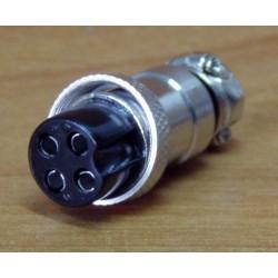 Wtyk mikrofonowy 4 pin
