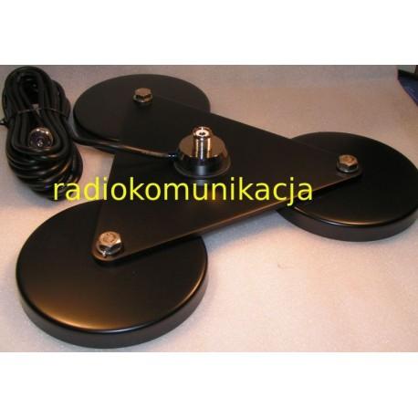 GL-300 S Podstawa magnetyczna /potrójna/