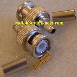 Wtyk BNC na RG-58 J01000A1255Y Telegärtner