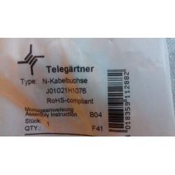 N gniazdo na RG-214/RG-213J01021H1076 Telegärtner