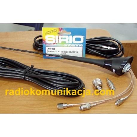 TRIFLEX SIRIO Antena samochodowa 3 funkcyjna