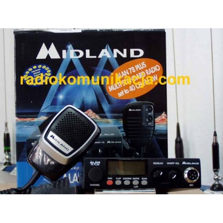 ALAN 78 PLUS CB Radio