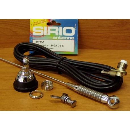 MGA-55-550 SIRIO Antena Samochodowa MB (80 MHz)
