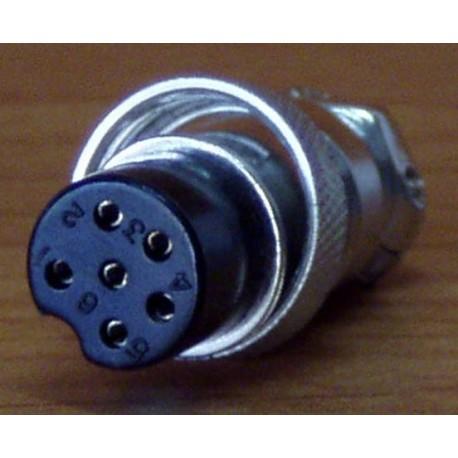 Wtyk mikrofonowy 6 pin