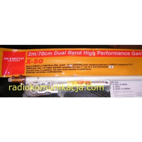 X-50 DIAMOND Antena stacjonarna VHF/UHF