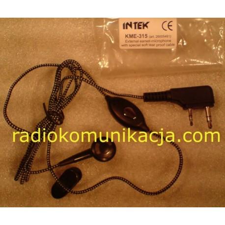 KME-315 Mikrofonosłuchawka INTEK