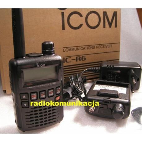 IC R6 ICOM Skaner (odbiornik ) ręczny