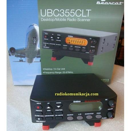 UNIDEN UBC-355CLT skaner nasłuchowy przewoźno bazowy