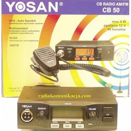 YOSAN CB 50 CB Radio samochodowe