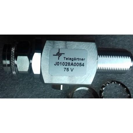 J01028A0054 TELEGARTNER Odgromnik gazowy N-f / N- m
