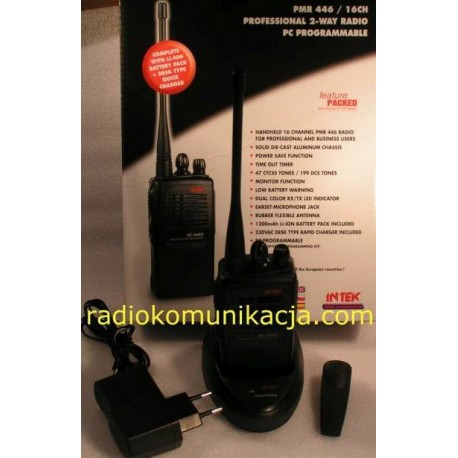 MT-446 ET INTEK Radiotelefon PMR